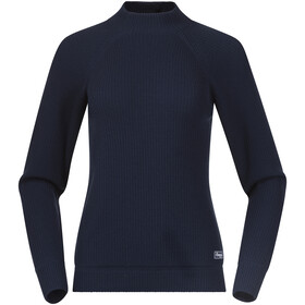 Bergans Solli Wool Sweater Women, navy blue